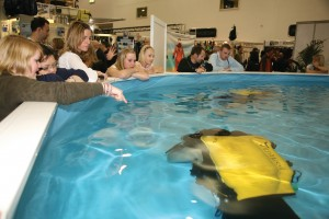 Dive Show 2010 - Rebreather Pool